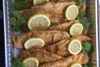 Fried Sole Fish