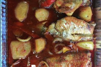 Oven Roasted Cod Fish